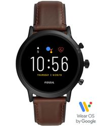 Smartwatch di Fossil in Black da Uomo