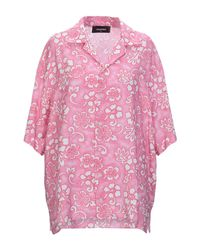 Camicia di DSquared² in Pink