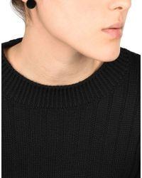 MM6 by Maison Martin Margiela - Black Earrings - Lyst