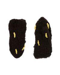 Anntian Brown Gloves