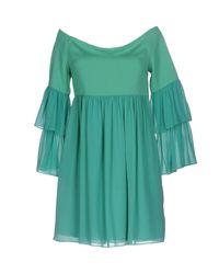 Rachel Zoe Green Short Dress