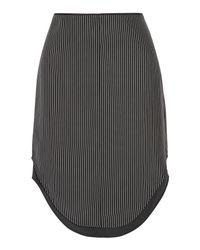Rag & Bone Black Knee Length Skirt
