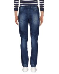 Michael Coal Blue Denim Trousers for men