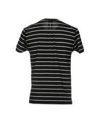 Saint Laurent Black T-shirt for men