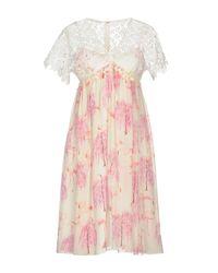Giambattista Valli White Knee-length Dress