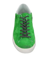 Golden Goose Deluxe Brand Green Low-tops & Sneakers for men