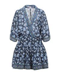 Poupette Blue Kurzes Kleid