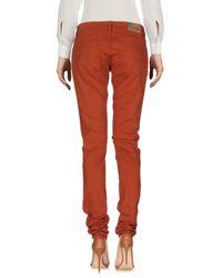Denim & Supply Ralph Lauren - Brown Casual Trouser - Lyst