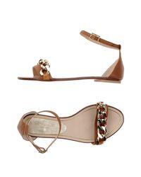 Stele Brown Sandals