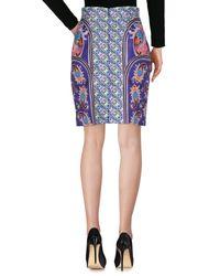 Mary Katrantzou Purple Knee Length Skirt
