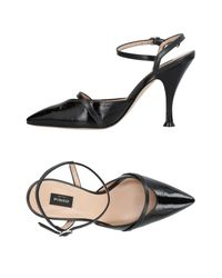 Pinko Black Pumps Shoes Women
