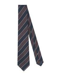 Tagliatore Brown Tie for men