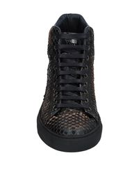 Roberto Cavalli Black High-tops & Sneakers for men