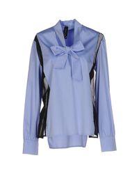 Pianurastudio Blue Bluse