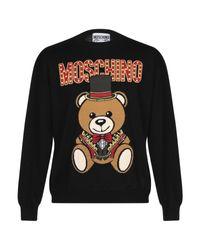 Pullover di Moschino in Black da Uomo