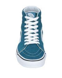 Sneakers & Tennis montantes Vans en coloris Blue