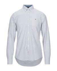 Camicia di Tommy Hilfiger in White da Uomo