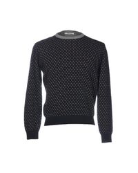 Barbati - Blue Sweater for Men - Lyst