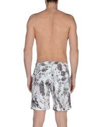 Onia Gray Swim Trunks for men