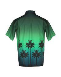 Chemise Marcelo Burlon pour homme en coloris Green