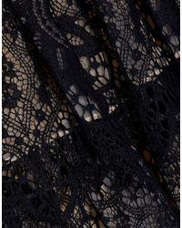 Robe courte Alice + Olivia en coloris Black