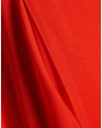 MILLY Red Kurzes Kleid