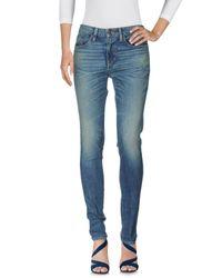 Pantaloni jeans di 6397 in Blue