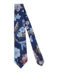 Gabriele Pasini - Blue Tie for Men - Lyst