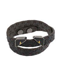 Fendi Brown Bracelet for men