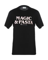 T-shirt di WOOD WOOD in Black da Uomo