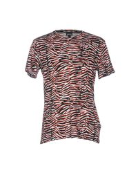 Just Cavalli Red T-shirt for men