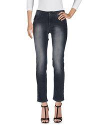 Pantaloni jeans di Anna Rachele in Black