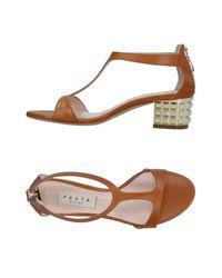Festamilano Brown Sandals