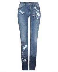 Pantaloni jeans di RED Valentino in Blue