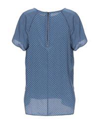 Blusa Custommade• de color Blue