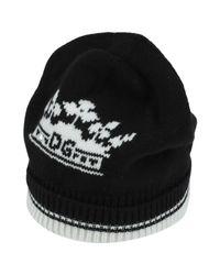 Cappello di Dolce & Gabbana in Black da Uomo