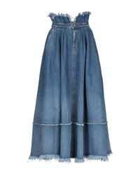 DIESEL Blue Denim Skirt