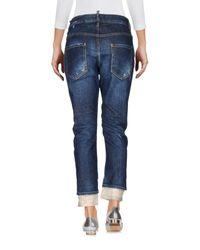 DSquared² Blue Denim Pants