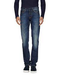Gilded Age Blue Denim Pants for men