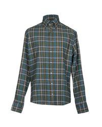 Michael Bastian Green Shirt for men