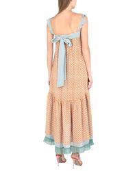 L'Autre Chose Multicolor 3/4 Length Dress