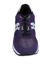 Saucony Purple Low-tops & Sneakers for men
