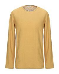 Pullover SELECTED pour homme en coloris Yellow