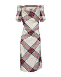 Vivienne Westwood Natural Knee-length Dress