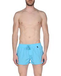 Short de bain DIESEL pour homme en coloris Blue