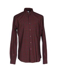Aspesi Red Shirt for men