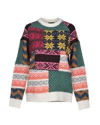 Pullover Roberto Collina en coloris White