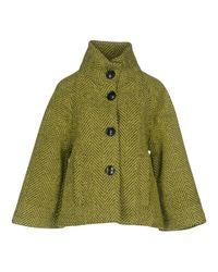 Rrd - Green Coat - Lyst