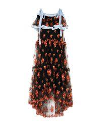 Philosophy Di Lorenzo Serafini Black Long Dress