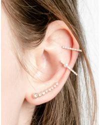 Astrid & Miyu - Metallic Earring - Lyst